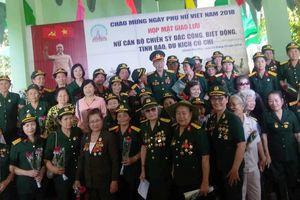 Hơn 100 nữ biệt động, đặc công, tình báo và du kích Củ Chi họp mặt