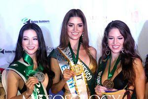 Đại diện Việt Nam đoạt HCB thi bikini tại 'Miss Earth'