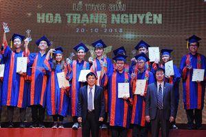 195 học sinh phía Bắc được trao giải Hoa Trạng Nguyên 2018