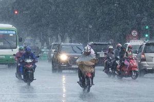 Bắc Bộ tuần tới mưa dông
