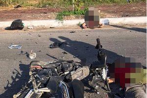 Nghệ An: 2 xe máy đối đầu, 3 người thương vong