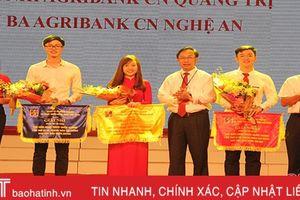 Agribank Hà Tĩnh giành giải nhất 'Thanh niên tài năng' khu vực Bắc miền Trung