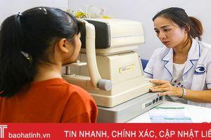 'Chăm sóc mắt cộng đồng' cho 1.000 người dân Hà Tĩnh