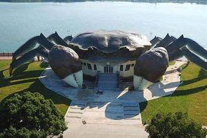 Bảo tàng hình con cua khổng lồ gây chú ý ở Trung Quốc
