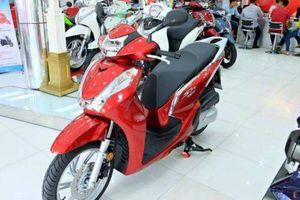 Hai mẫu xe máy của Honda có doanh số cao hơn tổng doanh số của bốn hãng còn lại