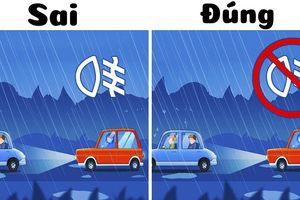 6 mẹo vàng lái xe trong thời tiết xấu mà ai cũng cần biết để đảm bảo an toàn