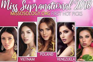 Sau Global Beauties, Minh Tú tiếp tục 'công phá' bảng xếp hạng của chuyên trang sắc đẹp Missosology