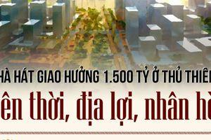 Xây nhà hát 1.500 tỷ ở Thủ Thiêm: Thiên thời, địa lợi, nhân hòa?