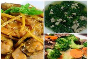 Nấu ngay 3 món ngon đơn giản cho bữa cơm gia đình ngày cuối tuần