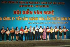 Hội diễn văn nghệ tại Công ty Yến sào Khánh Hòa