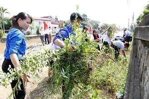 Phát động triển khai xây dựng mô hình điểm về bảo vệ môi trường và ứng phó với biến đổi khí hậu tại Giáo xứ Cách Tâm