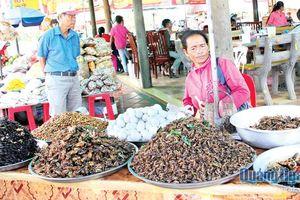 Những ngôi chợ độc đáo ở Campuchia