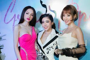 Angela Phương Trinh diện trang sức 1,7 tỷ đồng đọ sắc cùng Hoa hậu Hương Giang