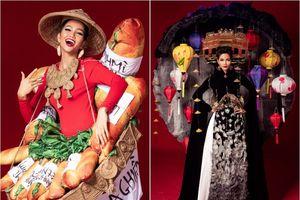 6 trang phục dân tộc lạ mắt của Hoa hậu H'Hen Niê