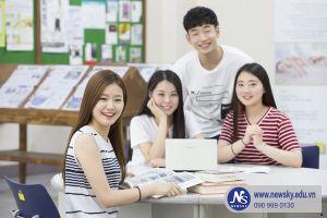 Học tiếng Hàn cấp tốc tại Trung tâm NewSky, TP.HCM