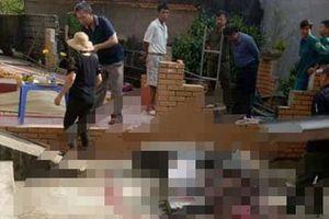 Kinh hãi đối tượng chém mẹ tử vong, khống chế con trai 4 tuổi ở Hòa Bình