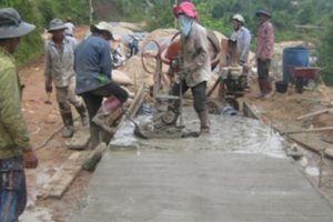 Xây dựng hơn 472km đường giao thông nông thôn ở Quảng Ngãi