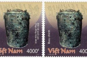 Phát hành bộ tem về các bảo vật quốc gia Việt Nam đồ đồng