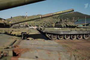 Kinh ngạc cách Nga bảo quản hàng ngàn chiếc xe tăng Liên Xô