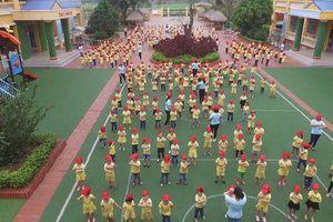 Phát động thi đua xây dựng trường học xanh, sạch, đẹp và an toàn