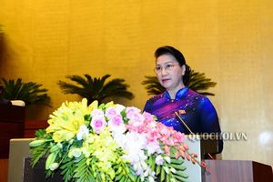Tổng Bí thư Nguyễn Phú Trọng chính thức được giới thiệu để Quốc hội bầu Chủ tịch nước