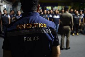 Thái Lan truy quét người nước ngoài ở quá hạn visa