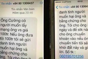 Bắt nghi phạm thứ 3 trong vụ nhắn tin tống tiền lãnh đạo Văn phòng ĐBQH
