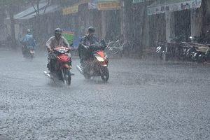Đề phòng mưa to, dông sét nhiều nơi ở miền Bắc