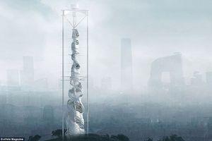 Cận cảnh các cao ốc thông minh kiêm máy lọc không khí, chống ngập