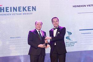 Heineken Việt Nam được bình chọn là nơi làm việc tốt nhất Châu Á