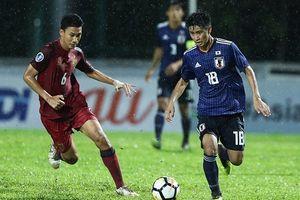 Trực tiếp bóng đá U19 Thái Lan 1 - 3 U19 Nhật Bản (VCK U19 châu Á 2018) (KT)