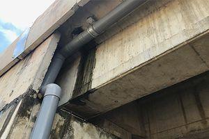 Cao tốc Đà Nẵng – Quảng Ngãi bị thấm nước