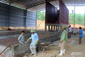 Sau 5 năm chôn lấp, thị xã Hoàng Mai sẽ có khu liên hợp xử lý rác thải