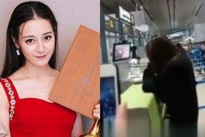 Địch Lệ Nhiệt Ba bật khóc giữa sân bay vì suy sụp sau những chỉ trích giải 'Thị hậu Kim Ưng' ?