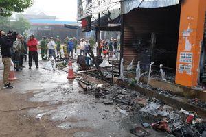 Cháy cửa hàng bán hoa lúc rạng sáng, 2 cô gái tử vong