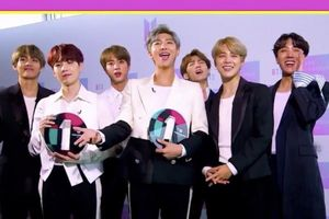 BTS lập cú đúp tại BBC Radio 1's Teen Awards diễn ra ở Anh