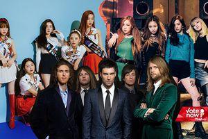 Khi K-Pop 'bắt tay' USUK: BlackPink cá tính, Wendy (Red Velvet) yêu kiều bên John Legend