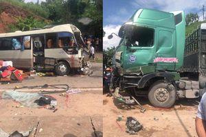Tai nạn xe khách kinh hoàng ở Sơn La, 12 người bị thương phải nhập viện cấp cứu