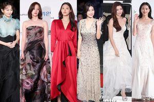 Thảm đỏ LHP Daejong 2018: 'Nàng cháo' Kim So Eun đọ sắc cùng Seolhyun (AOA) và 'người tình màn ảnh' của Yoo Ah In