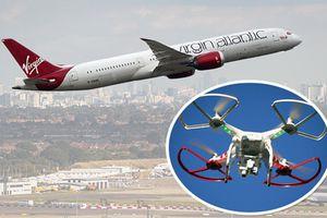 Phi cơ chở 264 hành khách suýt va chạm máy bay không người lái