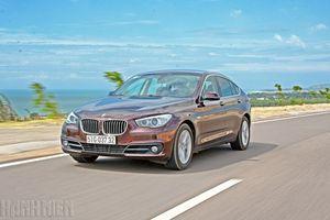 BMW 528i Gran Turismo: 'Vũ điệu tốc độ' xuyên miền gió cát