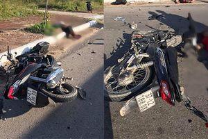 Phóng với tốc độ 'bàn thờ' và tông trực diện xe máy khác, 2 người tử vong