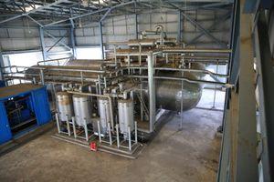 Xuất bán sản phẩm CO2 NM NLSH Dung Quất