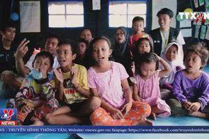 Lớp học kĩ năng vượt qua thảm họa cho trẻ em ở Indonesia