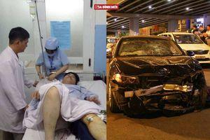 Thông tin mới nhất về sức khỏe các nạn nhân trong vụ nữ tài xế BMW tông liên hoàn ở Sài Gòn