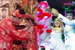 Trên phim đám cưới giản dị, ngoài đời đám cưới của Phương Hằng (Gạo nếp gạo tẻ) như thế nào?