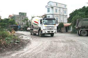 Phường Yên Sở (Hoàng Mai – Hà Nội) – Bài 1: Tràn lan trạm trộn bê tông hoạt động gây ô nhiễm môi trường