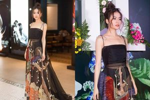Hoàng Thùy Linh bị 'ném đá' tơi tả vì diện váy xuyên thấu lộ nội y phản cảm