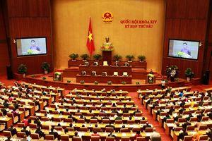 Quốc hội khai mạc kỳ họp thứ 6: Bầu Chủ tịch nước, lấy phiếu tín nhiệm