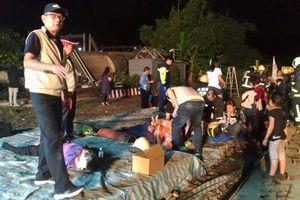 Đài Loan: Tàu hỏa trật đường ray, hàng trăm người thương vong